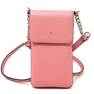 Kate Spade Larchmont Cellphone Crossbody Coral